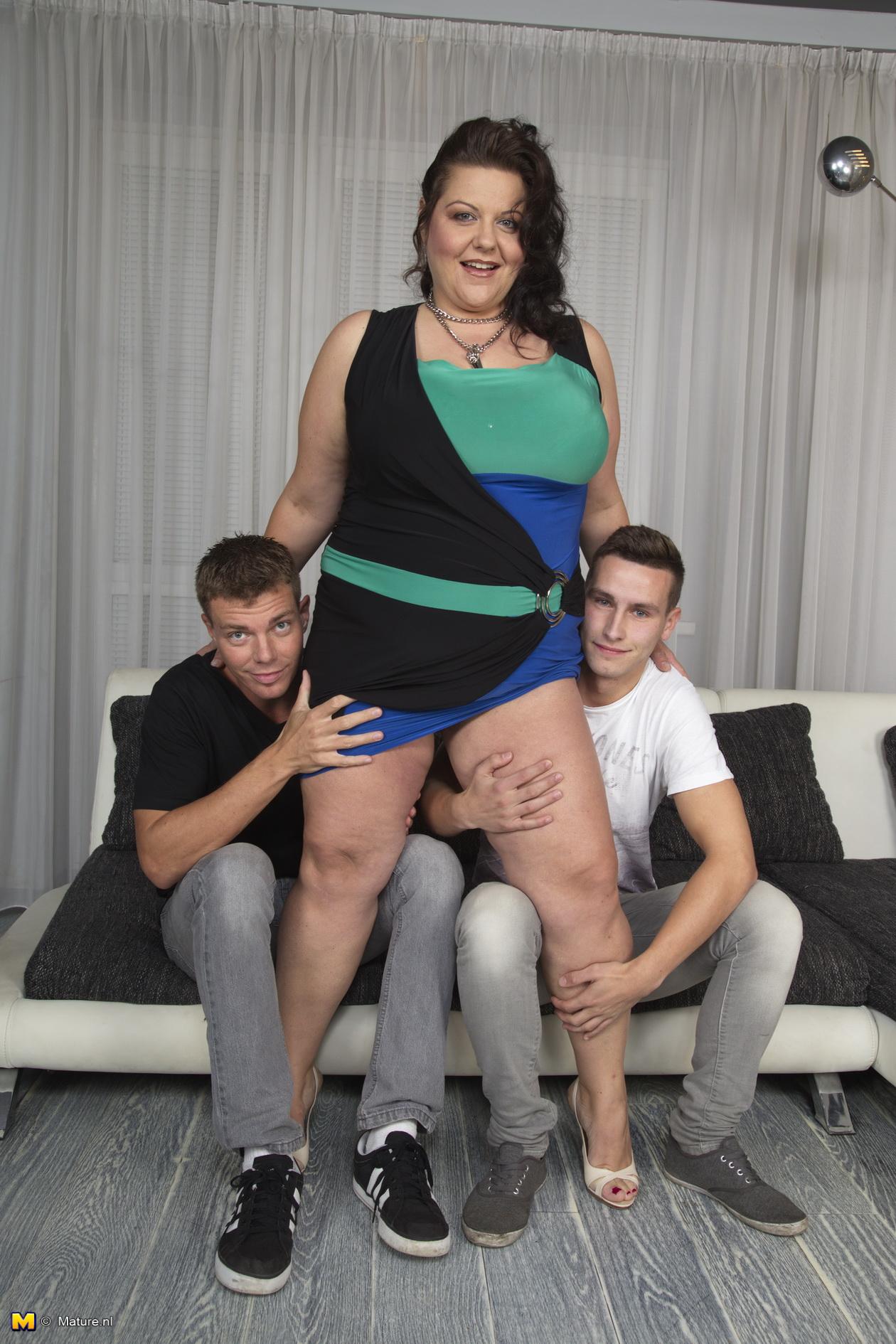 Mature Big Tits Teasing
